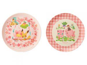 メラミン皿 はるいろ A(2枚セット) 1,000円(★)