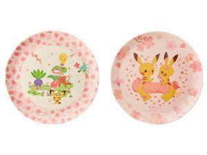 メラミン皿 はるいろ B(2枚セット) 1,000円(★)