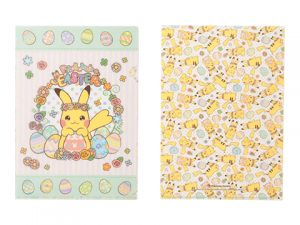 A4クリアファイル Pikachu's Easter