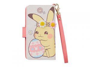 マルチスマホカバー ストラップ付き Pikachu's Easter