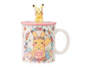 蓋つきマグカップ Pikachu's Easter