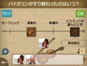 バイオリンがすり替わったのはいつ?